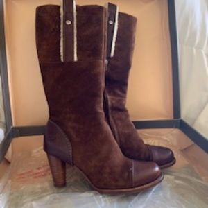 Ugg Tess Brown and Shearling boots - Size 7